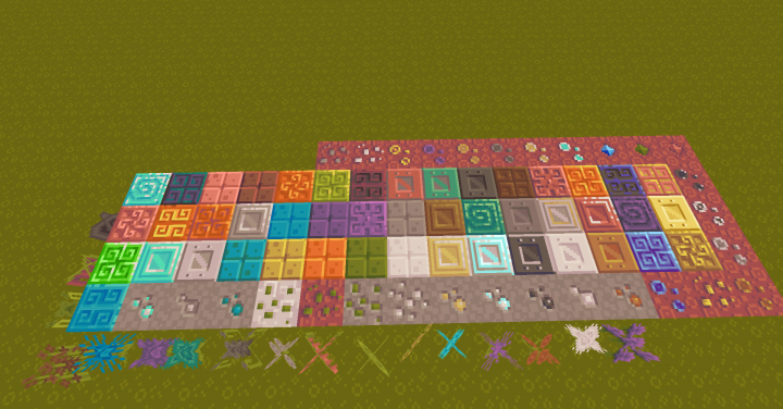Blocks, Ore, Botania Mystical Flowers