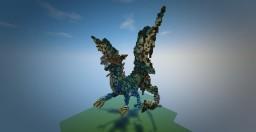 Psamatos the blue dragon