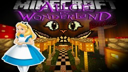 Minecraft: Alice In Wonderland  ( Underground base ) MAP DOWNLOAD