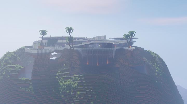 Tony Stark Malibu Mansion Minecraft Project