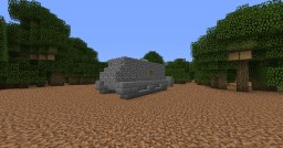 Lincoln Machine Nr. I (Little Willie) (1.5:1) Minecraft Map & Project