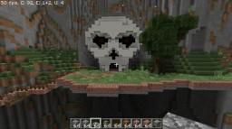 Mountain Skull Minecraft Project