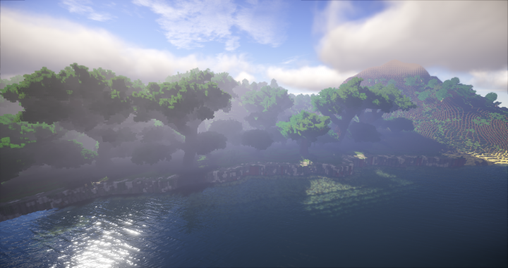 Summerset Island, giants trees for a elven isle !