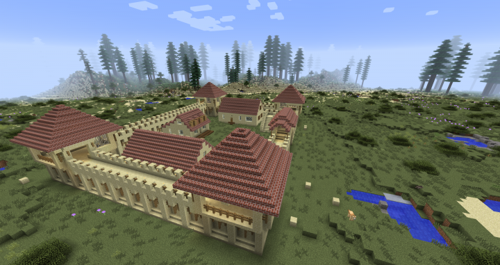 Sutters Fort WIP