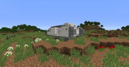 """Mark I tank """"Mother"""" (1.5:1) Minecraft Map & Project"""