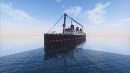 SS Halifax Minecraft Map & Project