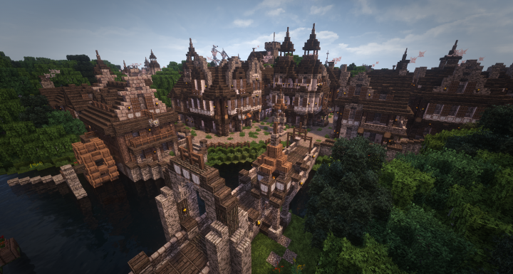 New Watermill And Castle District