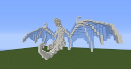 Small quartz and ice dragon Minecraft