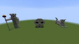Statues and Skulls Minecraft Project