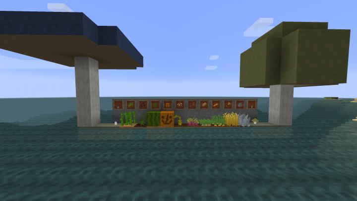Lots of crops