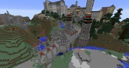 Fantasy Fire Bridge Minecraft Project