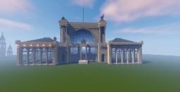 Lehrter Bahnhof Berlin Minecraft Project