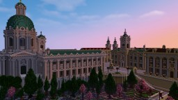 Baroque Village and Sanctuary Minecraft