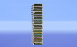 Efficient and AFK Wool Farm Minecraft Project