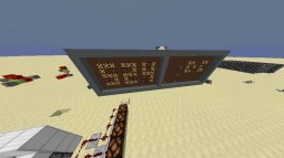 My Redstone World And A Missle Factory Minecraft Project