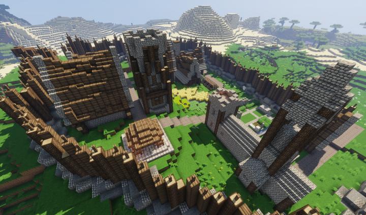 Minecraft Village Upgrade Minecraft Project