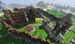 Minecraft Village Upgrade Minecraft Map & Project