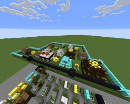 Clash of Clans Map (Buildings) Minecraft-Version 1.12.2 Minecraft Project