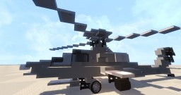 AH-64A Apache Minecraft Project