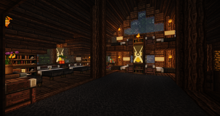 Inside Athenas Cabin