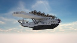 Dornier X V2 (1929) The flying Ship +Download Link! Minecraft Map & Project