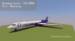Bombardier CRJ-900 Air Mekong [+Download] Minecraft Map & Project