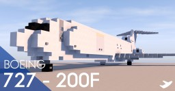 Boeing 727 - 200F Minecraft Map & Project