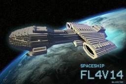 Spaceship FL4V14 Minecraft Project