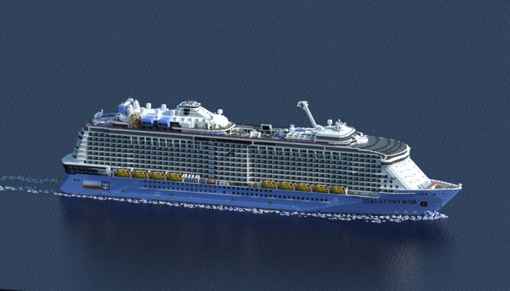 Cruise Ship Quantum Of The Seas Scale Royal Caribbean - Carribean cruise line