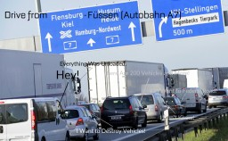 Journey Through Autobahn A7 and to Austria
