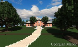 Georgian Manor | World of Keralis Minecraft Project