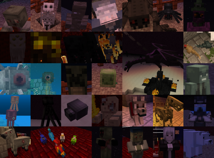 Any Mobs