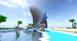 Tropical Hotel Minecraft Map & Project