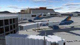 Las Vegas International Airport Minecraft