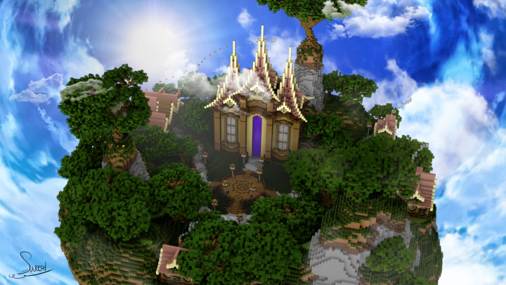 Medieval Fantastic Hub Minecraft Project