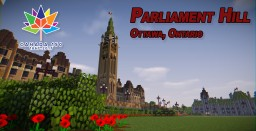 Parliament Hill, Ottawa Ontario | 1:1 scale Model Minecraft Project