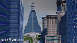 Ryugyong Hotel of Pyongyang, North Korea Minecraft Map & Project