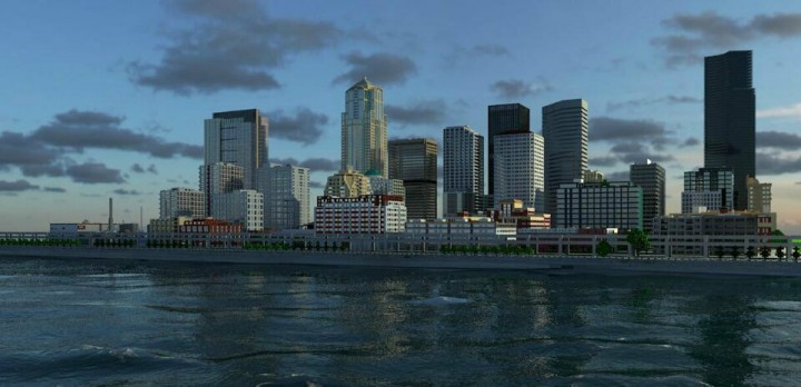 GN Downtown Seattle Minecraft Project