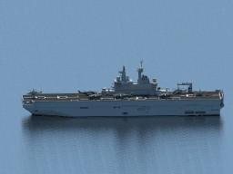 Mistral-class amphibious assault ship Minecraft Project