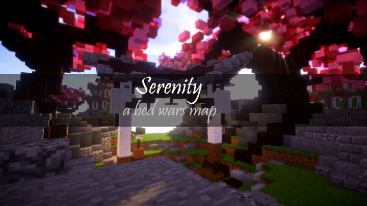 Serenity - A Japanese Style Bed Wars Map Minecraft Project