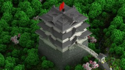 Hirotoshi Castle [Cubed Creative Server] Minecraft Project