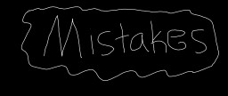 Mistakes Minecraft Blog Post