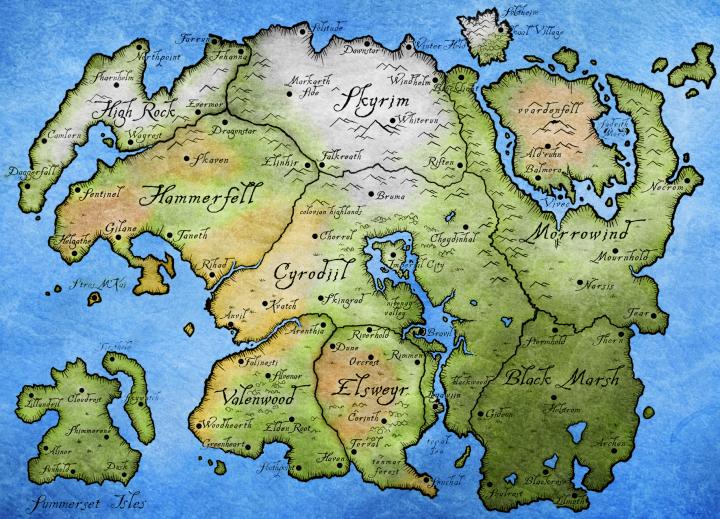 Best Cyrodiil Minecraft Maps & Projects   PlaMinecraft