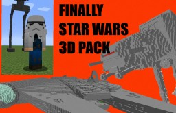 The Star Wars 3D Model Pack! Made by Fizzy Chickens (UPDATES COMING) Minecraft Texture Pack