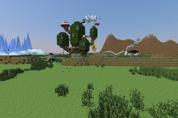 """Adventure Time: The Land of Ooo"" by to5toi FOR MINECRAFT POCKET EDITION Minecraft Map & Project"