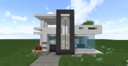Modern Compact House Minecraft Map & Project