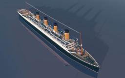 RMS Sapphiric (custom 4/1 scale ocean liner) Minecraft Project