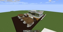 Greenway Bus Terminal Minecraft Project