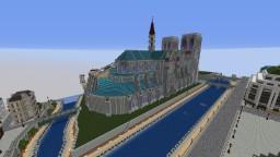 Notre dame de Paris Minecraft Map & Project