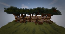 Wood Elven Walls Tutorial Minecraft Project